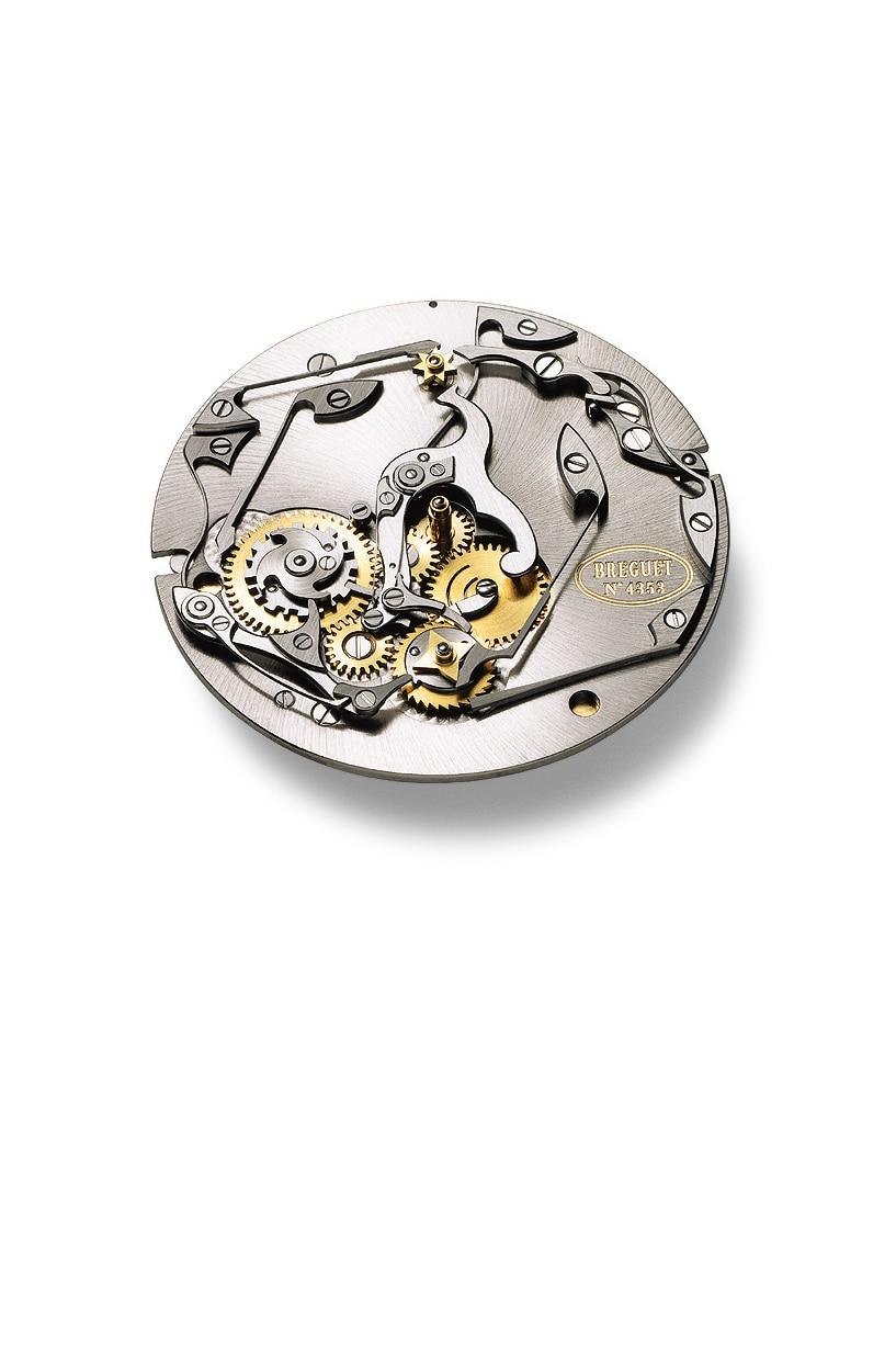 配备年份瞬跳装置的直线式万年历腕表机芯