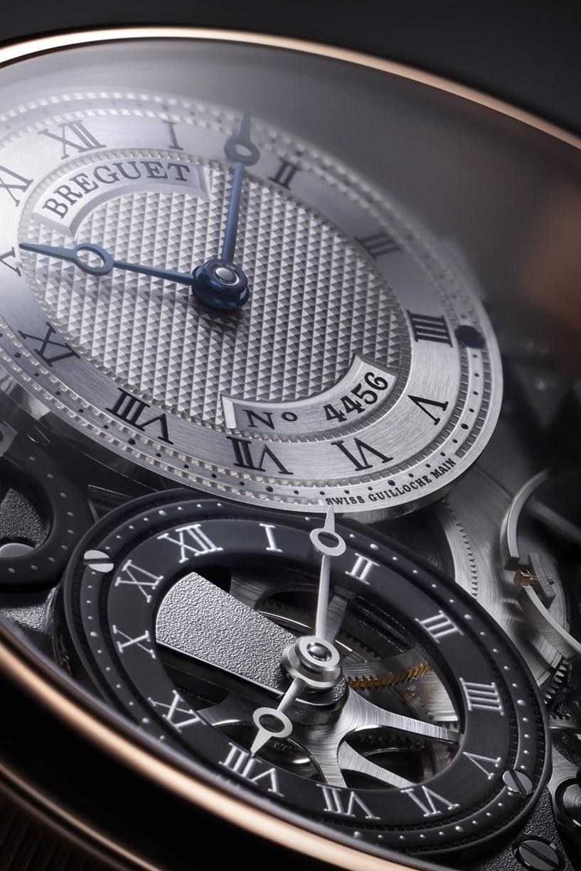 Tradition传世系列7067两地时腕表