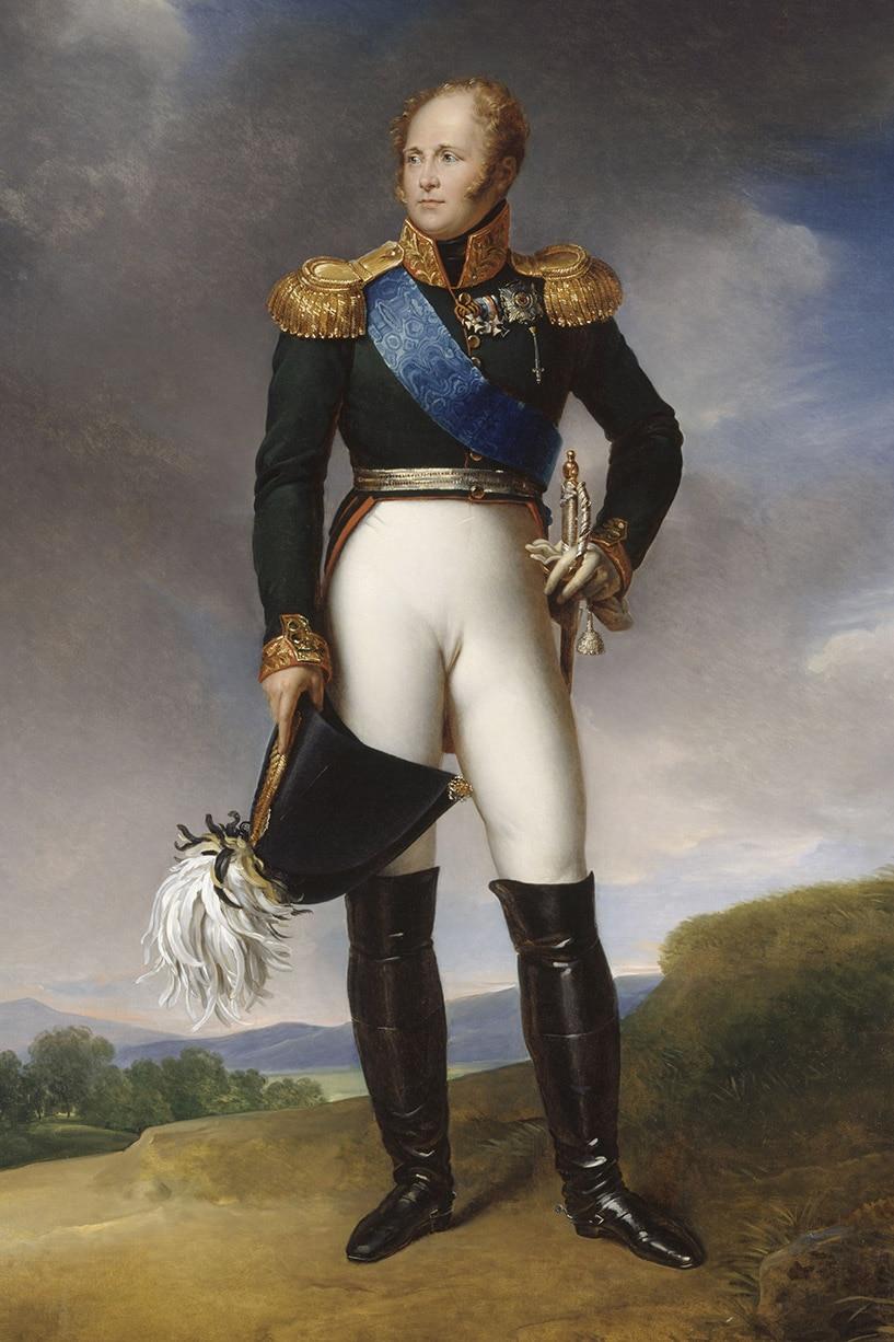 Alexandre 1er, Tsar de Russie