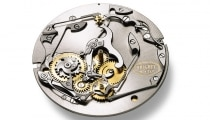 Straight-line perpetual calendar watch movement with instant year-jump