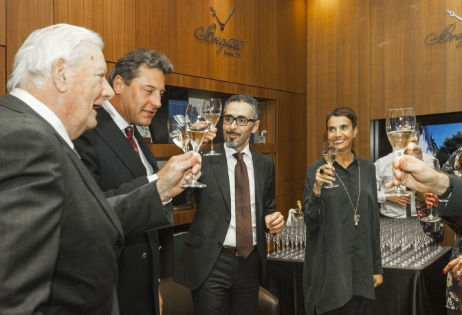 "The Breguet Boutique in Milan Opens Its Doors to ""La Vendemmia"""
