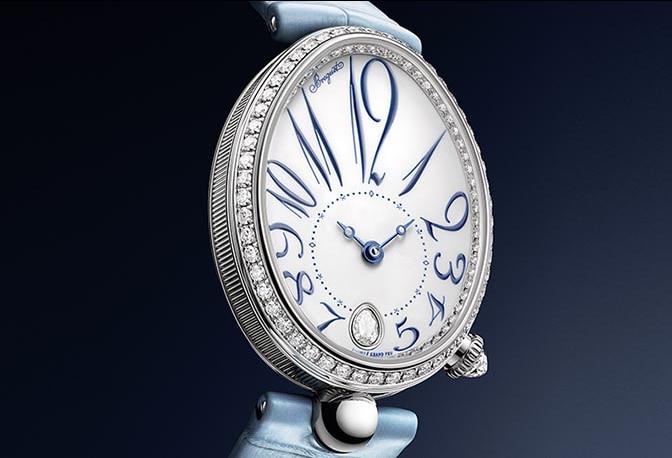 Une nouvelle création Reine de Naples vient compléter les collections Breguet