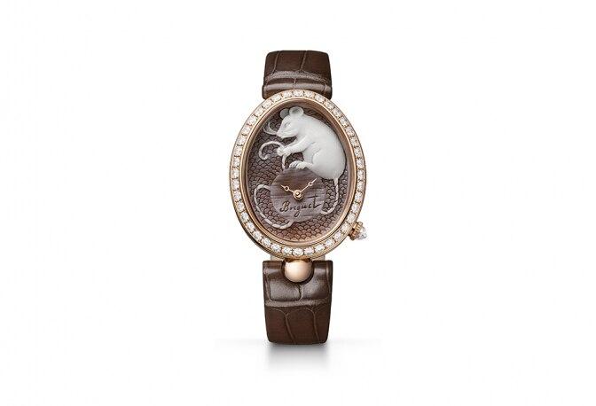 宝玑(Breguet)推出以贝壳浮雕镌饰的Reine de Naples 那不勒斯王后系列全新力作献礼金鼠年
