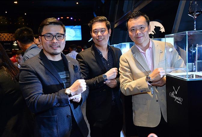 La nouvelle collection Marine de Breguet présentée en Malaisie