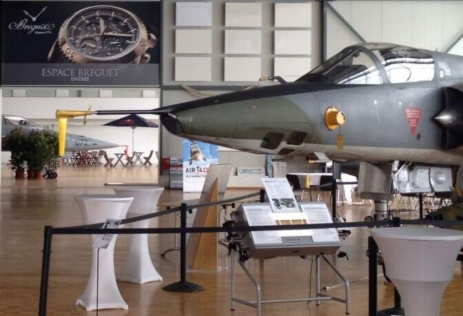 宝玑赞助帕耶讷军事航空博物馆(瑞士)